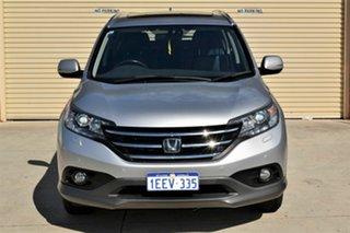 2013 Honda CR-V RM VTi-L 4WD Silver 5 Speed Automatic Wagon.