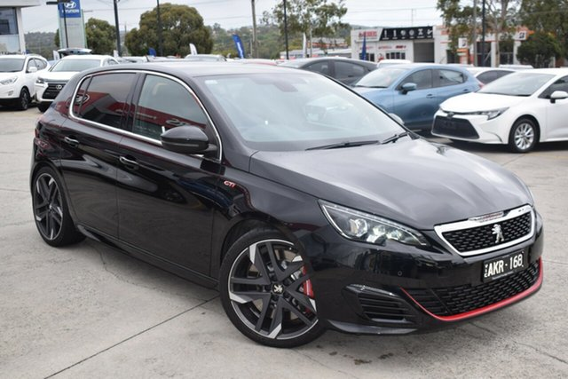Used Peugeot 308 T9 MY17 GTI 270 Ferntree Gully, 2017 Peugeot 308 T9 MY17 GTI 270 Black 6 Speed Manual Hatchback