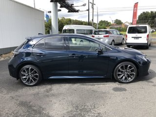 2020 Toyota Corolla ZWE211R ZR E-CVT Hybrid Peacock Black 10 Speed Constant Variable Hatchback.