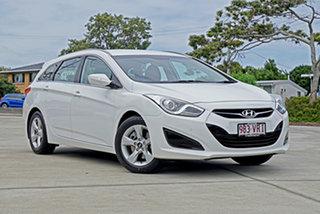 2013 Hyundai i40 VF2 Active Tourer Creamy White 6 Speed Sports Automatic Wagon.