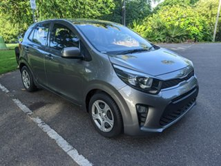 2018 Kia Picanto JA MY19 S Silver 4 Speed Automatic Hatchback.