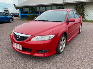 2003 Mazda 6 GG1031 Luxury Sports Red 4 Speed Sports Automatic Hatchback.