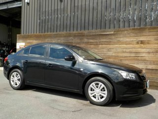 2009 Holden Cruze JG CD Black 6 Speed Sports Automatic Sedan