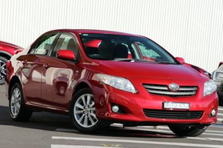2007 Toyota Corolla ZRE152R Conquest Red 4 Speed Automatic Sedan.