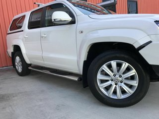 2016 Volkswagen Amarok 2H MY16 TDI420 4Motion Perm Highline White 8 Speed Automatic Utility
