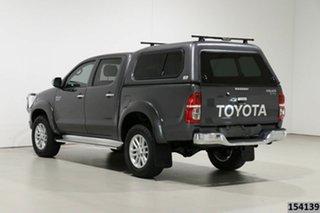 2015 Toyota Hilux KUN26R MY14 SR5 (4x4) Grey 5 Speed Manual Dual Cab Pick-up