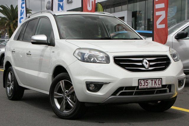 Used Renault Koleos H45 Phase II Bose Special Edition Aspley, 2013 Renault Koleos H45 Phase II Bose Special Edition White 1 Speed Constant Variable Wagon