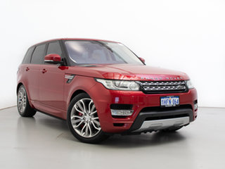 2015 Land Rover Range Rover LW MY15.5 Sport 3.0 SDV6 HSE Firenze Red 8 Speed Automatic Wagon.