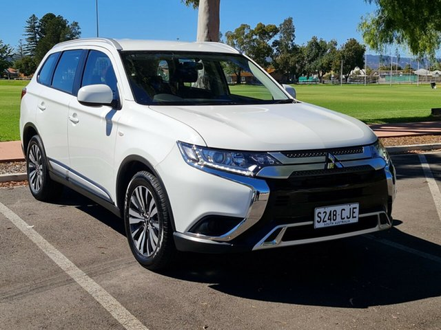 Used Mitsubishi Outlander ZL MY18.5 ES 2WD Nailsworth, 2018 Mitsubishi Outlander ZL MY18.5 ES 2WD White 6 Speed Constant Variable Wagon