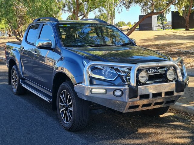 Used Isuzu D-MAX MY19 LS-T Crew Cab 4x2 High Ride Nailsworth, 2019 Isuzu D-MAX MY19 LS-T Crew Cab 4x2 High Ride Grey 6 Speed Sports Automatic Utility