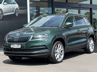 2020 Skoda Karoq NU MY21 110TSI FWD Green 8 Speed Automatic Wagon.