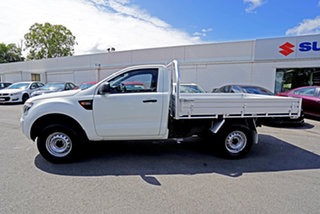 2014 Ford Ranger PX XL Hi-Rider Cool White 6 Speed Sports Automatic Cab Chassis
