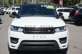 2014 Land Rover Range Rover Sport L494 MY15 Autobiography Dynamic White 8 Speed Sports Automatic.
