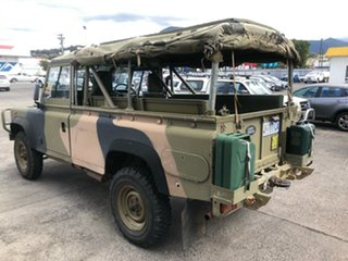 1990 Land Rover 110 Green 5 Speed Manual Cab Chassis