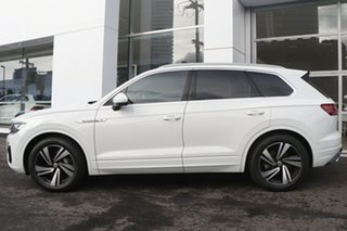 2020 Volkswagen Touareg CR MY20 190TDI Tiptronic 4MOTION Premium White 8 Speed Sports Automatic