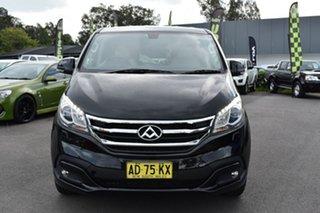 2017 LDV G10 SV7C Obsidian Black/light Grey 6 Speed Automatic Van