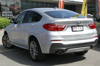 2017 BMW X4 F26 xDrive20i Coupe Steptronic Silver 8 Speed Automatic Wagon.