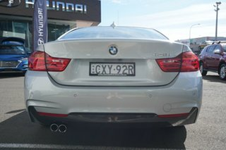 2015 BMW 4 Series F32 428i M Sport Glacier Silver 8 Speed Sports Automatic Coupe