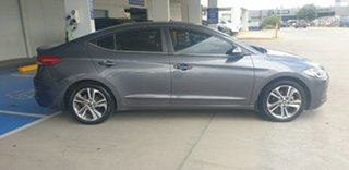 2016 Hyundai Elantra AD MY17 Elite Grey 6 Speed Sports Automatic Sedan.
