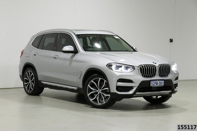 Used BMW X3 G01 xDrive30I Bentley, 2018 BMW X3 G01 xDrive30I Silver 8 Speed Automatic Wagon