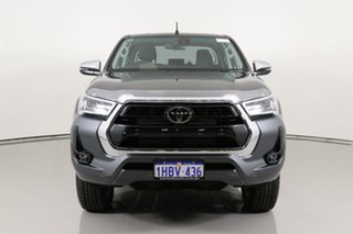 2020 Toyota Hilux GUN126R Facelift SR5+ (4x4) Graphite 6 Speed Automatic Double Cab Pick Up.