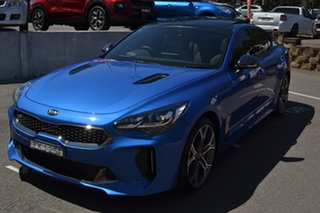 2019 Kia Stinger CK MY20 GT Fastback Night Sky Edition Blue 8 Speed Sports Automatic Sedan