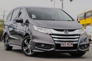2016 Honda Odyssey RC MY16 VTi-L Modern Steel 7 Speed Constant Variable Wagon.