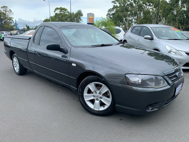 Used Ford Falcon BF Mk II XL Ute Super Cab Bunbury, 2007 Ford Falcon BF Mk II XL Ute Super Cab Grey 4 Speed Sports Automatic Utility
