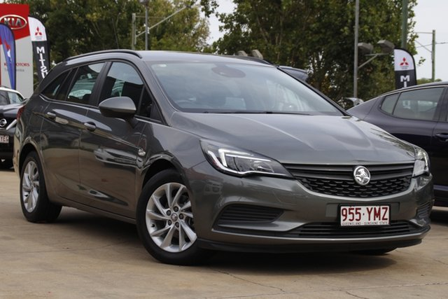 Used Holden Astra BK MY18 LS+ Sportwagon Toowoomba, 2018 Holden Astra BK MY18 LS+ Sportwagon Grey 6 Speed Sports Automatic Wagon