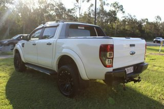 2015 Ford Ranger PX Wildtrak Double Cab White 6 Speed Sports Automatic Utility