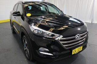 2016 Hyundai Tucson TLe MY17 Elite D-CT AWD Black 7 Speed Sports Automatic Dual Clutch Wagon