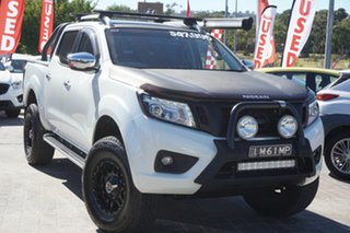 2015 Nissan Navara D23 ST-X White 7 Speed Sports Automatic Utility.