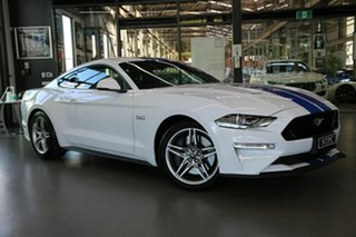 2020 Ford Mustang FN 2020MY GT White 6 Speed Manual Fastback.