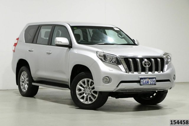 Used Toyota Landcruiser Prado GDJ150R MY16 VX (4x4) Bentley, 2016 Toyota Landcruiser Prado GDJ150R MY16 VX (4x4) Silver 6 Speed Automatic Wagon