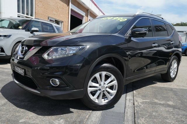 Used Nissan X-Trail T32 ST-L X-tronic 2WD Narrabeen, 2016 Nissan X-Trail T32 ST-L X-tronic 2WD Black 7 Speed Constant Variable Wagon