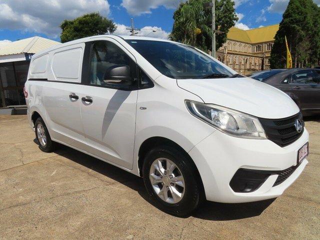 Used LDV G10 SV7C Toowoomba, 2016 LDV G10 SV7C White 6 Speed Automatic Van