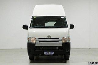 2016 Toyota HiAce TRH201R MY16 LWB White 5 Speed Manual Van.