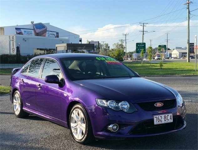 Used Ford Falcon FG XR6 Archerfield, 2011 Ford Falcon FG XR6 Purple 6 Speed Sports Automatic Sedan