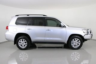 2018 Toyota Landcruiser VDJ200R LC200 VX (4x4) Silver 6 Speed Automatic Wagon