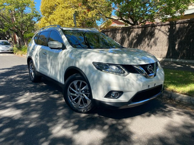 Pre-Owned Nissan X-Trail T32 TL X-tronic 2WD Hawthorn, 2015 Nissan X-Trail T32 TL X-tronic 2WD White 7 Speed Constant Variable Wagon