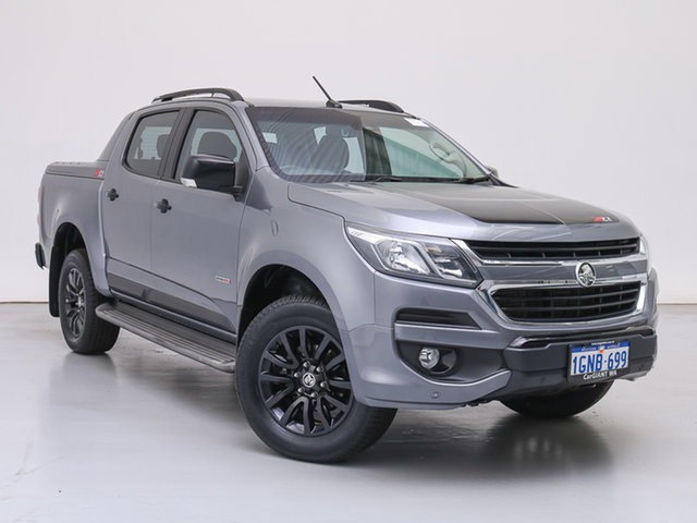 Used Holden Colorado RG MY18 Z71 (4x4), 2018 Holden Colorado RG MY18 Z71 (4x4) Grey 6 Speed Automatic Crew Cab Pickup