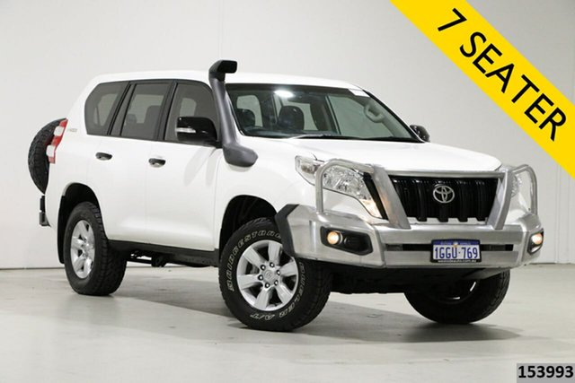 Used Toyota Landcruiser Prado GDJ150R MY16 GX (4x4) Bentley, 2017 Toyota Landcruiser Prado GDJ150R MY16 GX (4x4) White 6 Speed Automatic Wagon