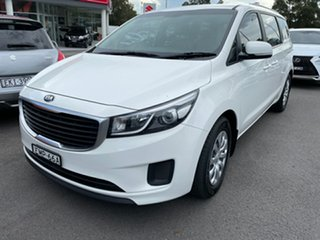 2015 Kia Carnival YP MY15 S White 6 Speed Sports Automatic Wagon