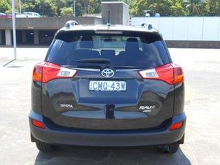 2013 Toyota RAV4 ALA49R MY14 GXL AWD Black 6 Speed Sports Automatic Wagon