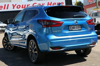 2019 Nissan Qashqai J11 Series 3 MY20 N-SPORT X-tronic Vivid Blue 1 Speed Constant Variable Wagon.