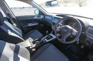 2009 Subaru Impreza G3 MY09 R AWD Grey 5 Speed Manual Sedan.