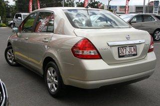 2006 Nissan Tiida C11 ST-L Gold 4 Speed Automatic Sedan.