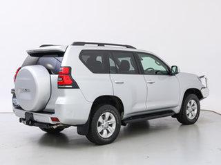 2018 Toyota Landcruiser Prado GDJ150R MY17 GXL (4x4) Silver 6 Speed Automatic Wagon