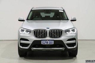 2018 BMW X3 G01 xDrive30I Silver 8 Speed Automatic Wagon.