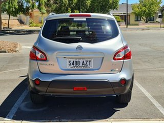 2013 Nissan Dualis J107 Series 3 MY12 +2 Hatch X-tronic 2WD ST Silver 6 Speed Constant Variable